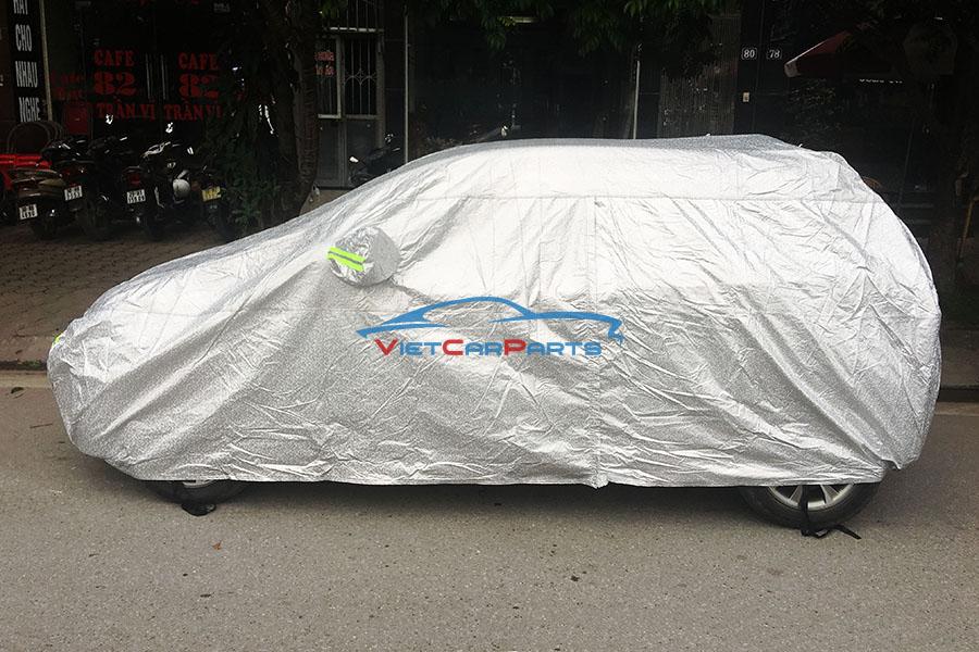 Mặt bên bạt phủ xe ô tô Kia Moring
