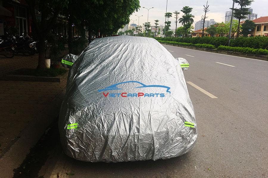 Mặt trước bạt phủ xe ô tô Kia Moring