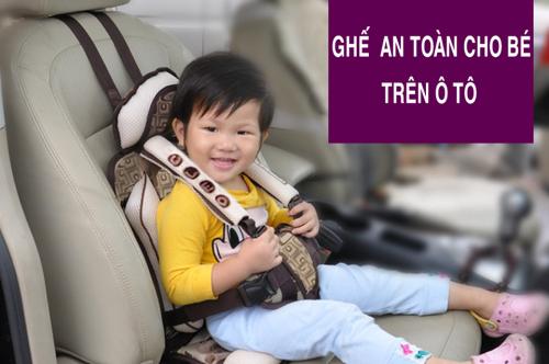 Ghế an toàn cho trẻ em trên ô tô