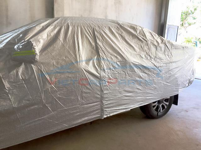 Mặt bên bạt phủ xe bán tải Ford Ranger