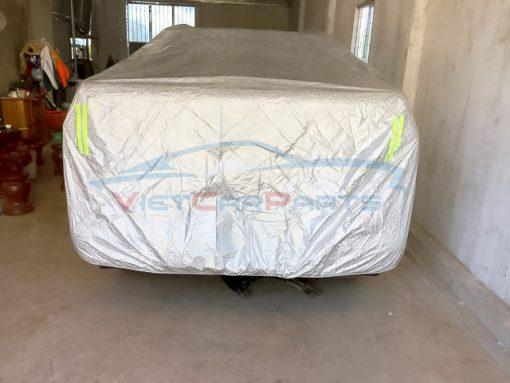 Mặt sau bạt phủ xe ô tô bán tải Ford Ranger