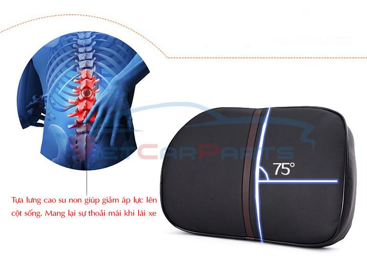 Tựa lưng giúp giảm áp lực lên cột sống